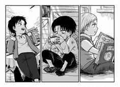 Imagen de manga, shingeki no kyojin, and attack on titan