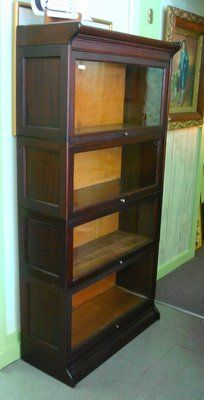 Mahogany Four Stack Barrister Book Case in Camp Lejeune