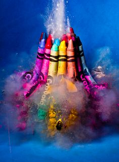 explosion photography from Alan Sailer