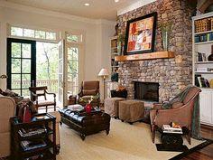 Classic Interiors: Stone Fireplaces