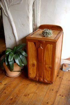 Cedarwood scrap wood rolling cabinet for CDs