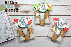 Bella and Friends Dog Biscuit Treat Bags