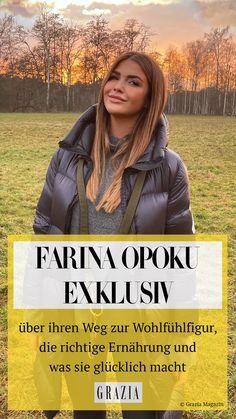 Im exklusiven GRAZIA-Interview hat uns die sympathische Influencerin Farina Opoku alles über ihren Weg zu ihrem Wohlfühlgewicht verraten, wie sie es schafft, sich gesund zu ernähren und was sie anderen Frauen dazu raten kann. #grazia #grazia_magazin #farinaopoku #influencer #interview #graziainterview #wohlfühlfigur #bodypositiv #glücklich #glücklichefrauen #ernährung