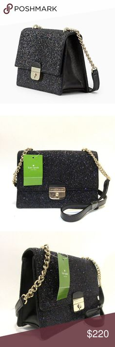 f2083bb4694031 Kate Spade Eden Sunset Lane Glitter Crossbody bag Guaranteed Authentic  Brand New with tags attached KATE
