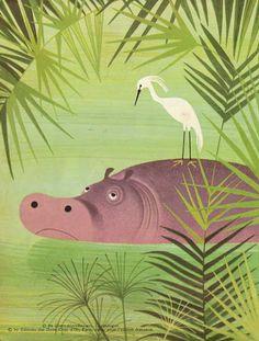 Elisabeth Brozowska, Isidore L'Hippopotame, 1969.