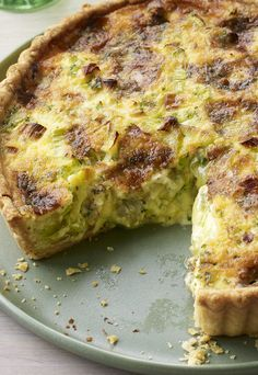 So cheesy, so... leeky? Mary Berry's leek and stilton quiche is a must-have at this summer's picnics.