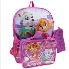 Paw Patrol Girls Backpack + Lunch Bag - Mercari: Anyone can buy & sell
