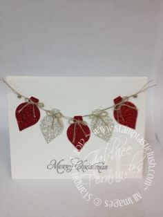 Stampin Up! Christmas Card by christa