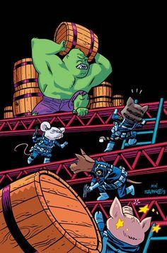 The Hulk animal cover by Chris Samnee *