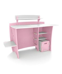 Desk shelves, Office organization and Computer desks on Pinterest