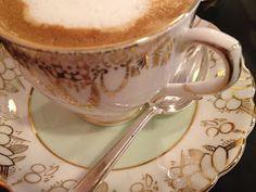 #Coromandel, Via di Monte Giordano, Rome. We sometimes come here for late breakfast when we're in town - we love the old-fashioned china tea service and typical #Maritozzi buns.