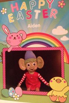 Elf on the Shelf - Easter Visit