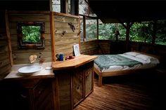 Casal americano cria comunidade de casas na árvore na Costa Rica ~ AUTOSSUSTENTÁVEL