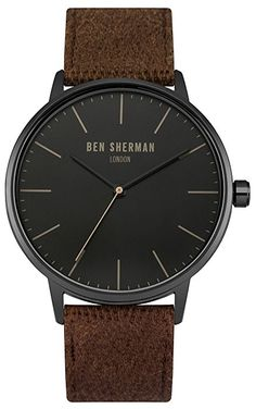 Ben Sherman Herren-Armbanduhr Analog Quarz WB009TB: Amazon.de: Uhren