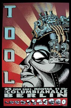 Tool concert poster