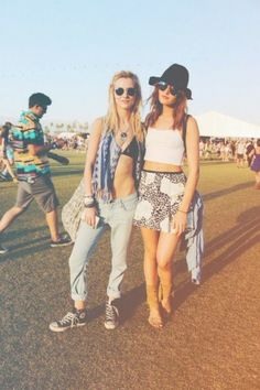 Festival Fashion At Coachella, the anticipation always begins to build at the start of the year, reaching a fevered pitch in April, and then, in a flash, it's over.