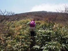 安達太良山 横向登山口から箕輪山からの登山ルート案内