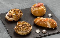 Partys, Bagel, Finger Foods, Catering, Bread, Mini, Finger Food Recipes, Food Food, Catering Business