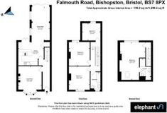 4 bedroom terraced house for sale in Falmouth Road, Bristol, BS7 Bristol Houses, Gloucester Road, Paved Patio, Terraced House, Heated Towel Rail, Falmouth, Patio Seating, Open Plan Kitchen, Reception Rooms
