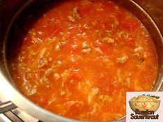 Homemade Tomato Soup Recipe with Sauerkraut