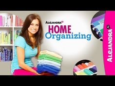 Organizing expert Alejandra Costello shares her awesome tips for organizing everything!! Check her out at alejandra.tv or on youtube. One day I WILL be this organized!
