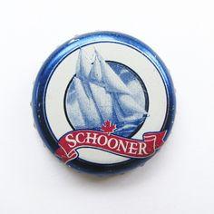 Canadian Schooner beer bottle cap