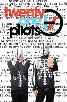 Twenty One Pilots - Mini Print G