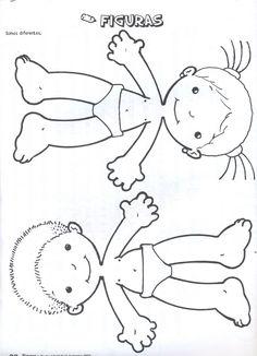 Moldes para Todo: * Figuras del Cuerpo Humano *