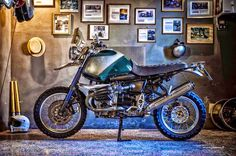 "RocketGarage Cafe Racer: BMW GS 1150 ""WALLABY"""