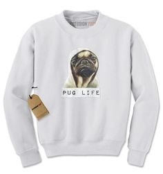 - Thug life? More like Pug Life - Snug as a pug in an Ugg on a rug Description Expression Tees brings you yet another amazing design - Pug Life Funny Thug Life All of our designs are printed in the U.