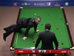 Mark Allen v Mark Davis Pink Spot Incident QF 2015 Shanghai Masters Mark Davis, Poker Table, Shanghai, Masters, Tours, In This Moment, Funny, Youtube, Pink