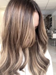 Silver Blonde Hair, Dyed Blonde Hair, Blonde Hair With Highlights, Balayage Hair Blonde, Balayage Highlights, Hair Dye, Gray Hair, Honey Brown Hair, Light Brown Hair