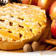 #BakingTips For the flakiest, most tender crust, keep all of your ingredients and equipment cold as you work #applepie