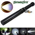 Self-defense Cree XPE LED Flashlight Police Tactical Telescopic Anti-Wolf Torch