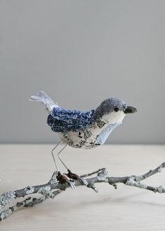 Oh my!  What a lovely project!  Bluebird of happiness / soft sculpture animal ~ oh, albatross