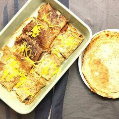 Gluten free and vegan crepes filled with a creamy mushroom sauce ✨🌱 Κρέπες χωρίς γλουτένη & βίγκαν γεμιστές με μανιτάρια 🌱🍄😃 Φιλιά από την βροχερή Βιέννη 😙☔️ #crepes #mushrooms #lunchtime #inmykitchen #glutenfree #vegan #glutenfreevegan #gfhappy Pepperoni, Lasagna, Pizza, Gluten Free, Ethnic Recipes, Greek, Food, Chef Recipes, Koken