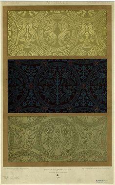 """11/12thc design based on """"shroud of st. Potentien"""", Sens"""