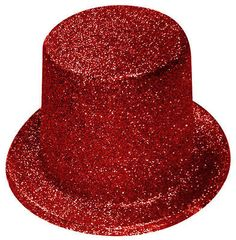 3759dbee04cac 6 x Ladies Hen Night Party Top Hats Red Glitter Sparkle Fancy Dress Topper  H2301