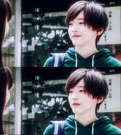 A Japanese idol is the hot topic right now in South Korea due to his visuals - and his age! Cute Japanese Guys, Japanese Kids, Cute Korean Boys, Japanese Male, Ulzzang Korea, Ulzzang Boy, Pretty Boys, Cute Boys, Kid Swag