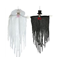 Colgante Novios Esqueletos #decoraciónhalloween #fiestahalloween