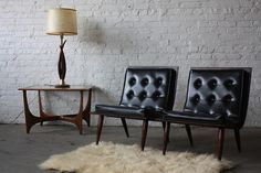 1960s Carter Brothers Scoop Chairs | U.S.A.