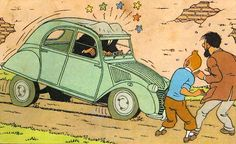 """""""The Calculus Affair"""", Tintin story by Belgian, Herge."""