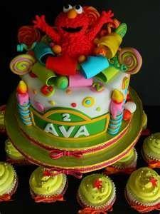 Elmo birthday cake ashtyn-s-birthday