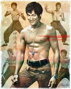 Bruce Lee Art, Bruce Lee Photos, Rare Pictures, Rare Photos, Bruce Lee Family, Cardboard Art, Angel And Devil, Mixed Media Artwork, Batman Art