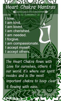 Heart Chakra; The Love Chakra »