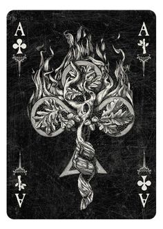 Chris Ovdiyenko is raising funds for Arcana Playing Cards on Kickstarter! Playing cards inspired by the Tarot. Arcana is a new deck of custom hand-drawn playing cards printed by USPCC. Ace Card, Play Your Cards Right, Playing Cards Art, Card Tattoo, Arte Sketchbook, Art Design, Skull Art, Deck Of Cards, Cool Cards