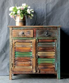 Another great find on #zulily! Rustic Wood Sideboard #zulilyfinds