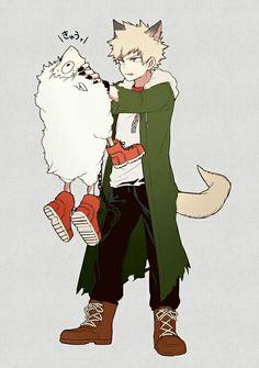 Bakugou Katsuki & [Sheep] Midoriya Izuku