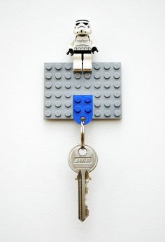 How to: Make a DIY Lego Key Holder