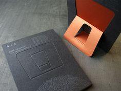 2011 Studio On Fire Letterpress Calendar — The Dieline - Package Design Resource Packaging Design Inspiration, Graphic Design Inspiration, Branding Ideas, Branding Design, Book Cover Design, Book Design, Menu Design, Creative Calendar, Calendar Ideas